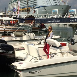 Boston Whaler at the Southampton Boat Show, 16-25 September 2016