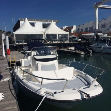 Feel the stability and spaciousness of a new Boston Whaler this weekend at the Poole Harbour Boat Show!