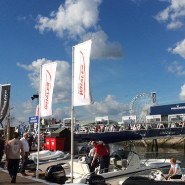 Boston Whaler – On the Water – Southampton Boat Show – 11-20 September 2015