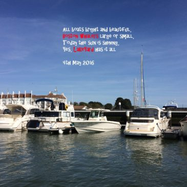 Where's your Whaler … South of France or beautiful Poole Harbour?