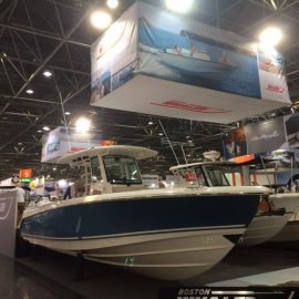 2017 Dusseldorf Boat Show – Superb Boston Whaler Display – Last Few Days!
