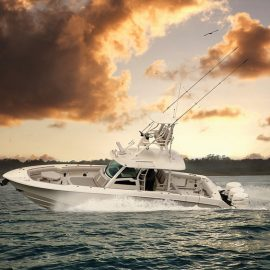 Stunning New 380 Outrage Debut at Düsseldorf Boat Show 20-28 January 2018