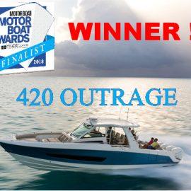 420 OUTRAGE – SUPERBOATS WINNER MBY AWARDS 2018!