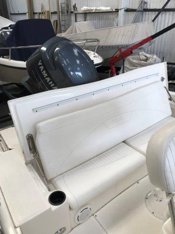 180 D 2008 PD Stern cushions not attached